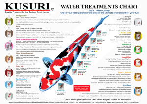 Kusuri Water Treatments Chart 2014 copy